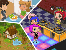 Многопользовательские игры для девочек