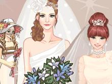 Свадебные одевалки для девочек