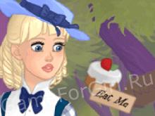 Конструктор персонажей: Алиса в Стране чудес