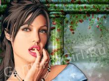 Реальный макияж Анджелины Джоли