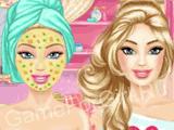 Барби — Реальный макияж