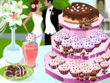 Башенка из пирожных