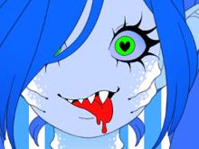 Мейкер аватара: Девочка-монстр