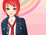 Рыжая модница