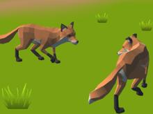 Симулятор семьи лисы «Fox Family»