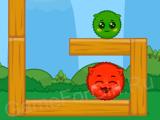 Зелёный и красный