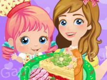 Мама и я: Готовим пирог