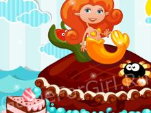 Тортик с русалкой