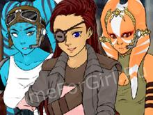 Конструктор персонажей: Звёздные войны