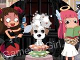 Чертёнок в салоне для животных
