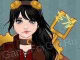 Конструктор стимпанк-персонажей — Девушка