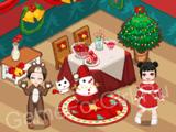Новогодний кукольный домик