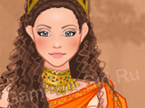 Девушка из Древней Греции