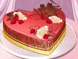 Тортик-сердечко