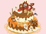 Торт к празднику Хеллоуина