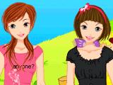 Наряд для девочек-близняшек