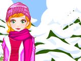 Зимой (одевалка)
