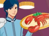 Официант и официантка