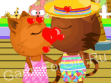 Кошечка Сиси — первый поцелуй