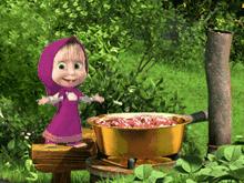 Маша и Медведь: Наварю-ка я варенья...