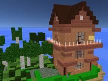 Строить для Майнкрафта в Build with Cubes