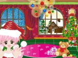 Укрась комнату на Рождество