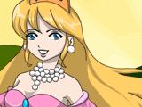 Раскрась принцессу