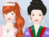 Платья принцессы