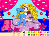 Принцесса и мишка