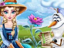 Ледяной цветок Эльзы