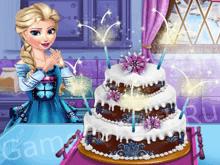 Свадебный торт от Эльзы