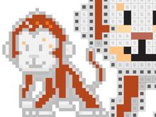 Пиксель Арт: Рисунки по клеточкам