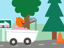 Sago Mini: В путь-дорогу! — Путешествие на машинке