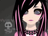 Грустная девочка-эмо