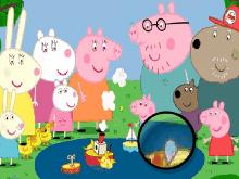 Свинка Пеппа: Найди звёздочки