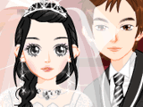 Свадебный наряд для жениха и невесты